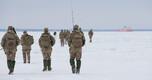 Liitlaste lahingugrupi, Kaitseliidu ja õhuväe ühisõppus Alpha's Iceman Muhumaal.