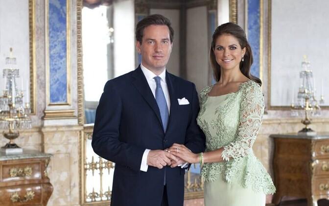 Chris O'Neill ja printsess Madeleine