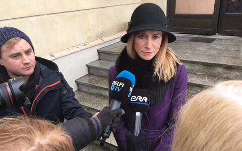 Says she isn't taking sides, but supports Laanet and calls on Pevkur not to insist on position of deputy speaker: Kaja Kallas.
