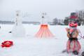 В Вяэтса слепили 1406 снеговиков.