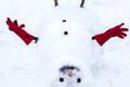 Sulailmaga on hea lumememme meisterdada.