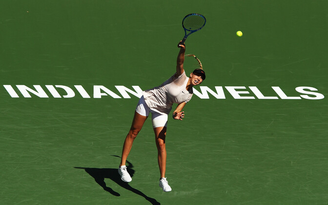 Amanda Anisimova Indian Wellsi tenniseturniiril.