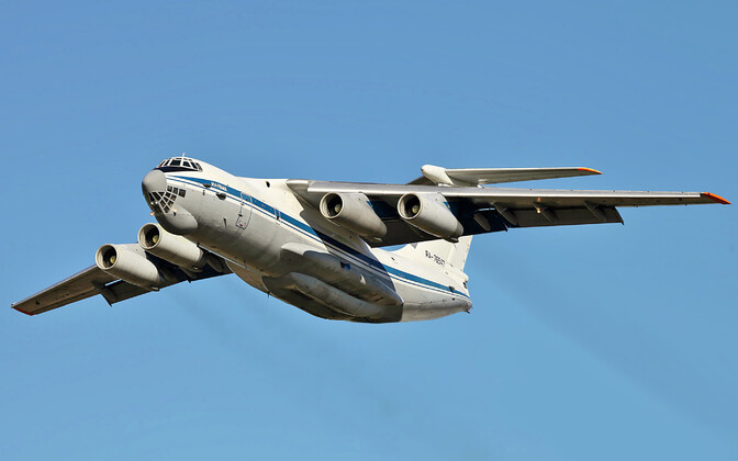 An Ilyushin IL-76. Photo is illustrative.