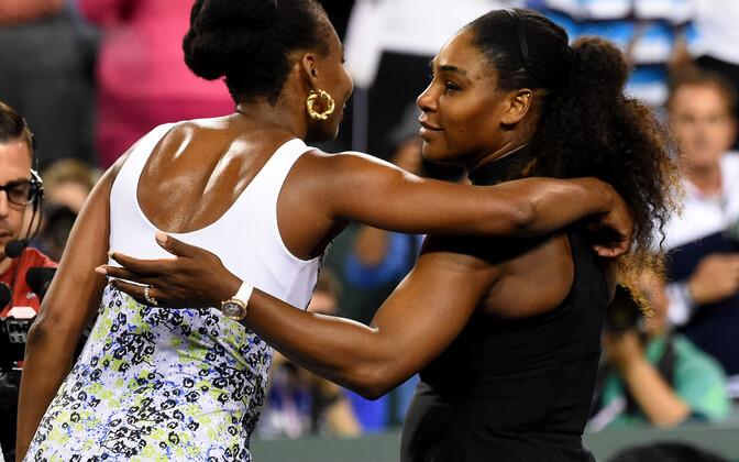 Venus ja Serena Williams.
