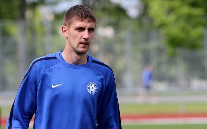Игорь Морозов не вызывался в сборную Эстонии около трех лет.