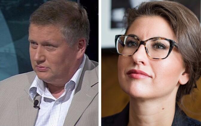 Яанус Марранди и Ольга Иванова едут на выборы президента России.