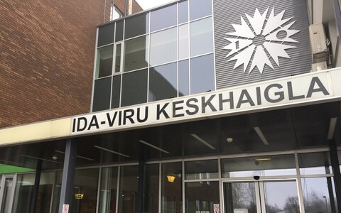 Ida-Viru Central Hospital in Kohtla-Järve, Northeastern Estonia.