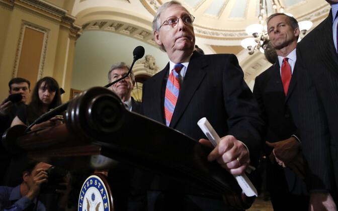 Senati vabariiklaste liider Mitch McConnell.