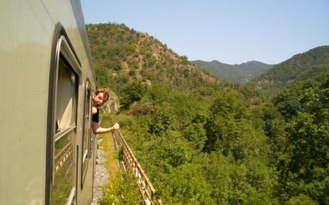 Путешествие по Interrail.