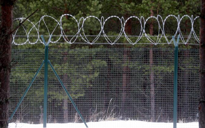 Turvatara Läti-Vene piiril.