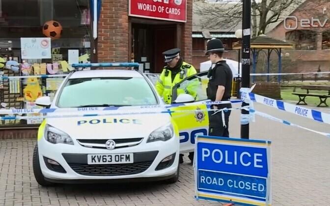 Briti politsei.