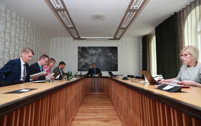 RMK eelmise nõukogu koosolek.