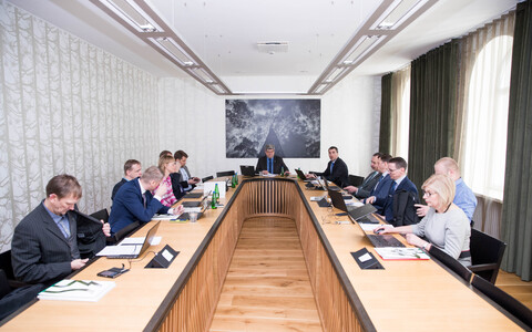 Meeting of the supervisory board of the RMK. March 2018.