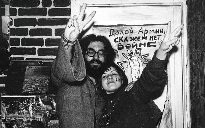 Lillelapsed Smolenskis, Venemaal.