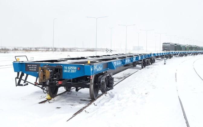 Новый железнодорожные платформы EVR Cargo сдаст в аренду.