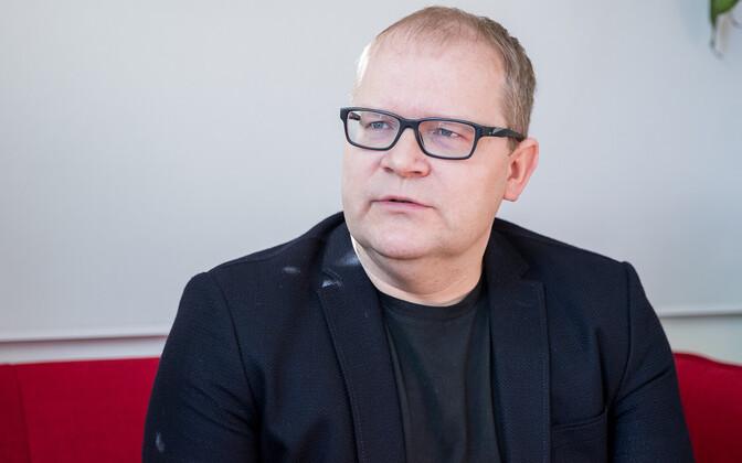 Former Estonian Foreign Minister Urmas Paet.