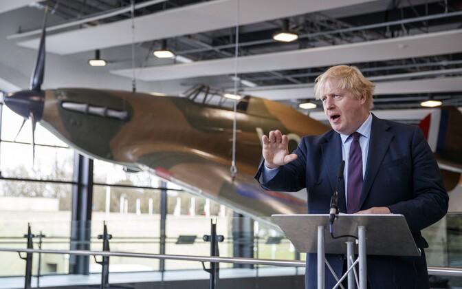 Briti välisminister Boris Johnson