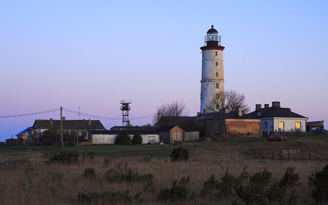 The island of Vilsandi is located off the west coast of Saaremaa.