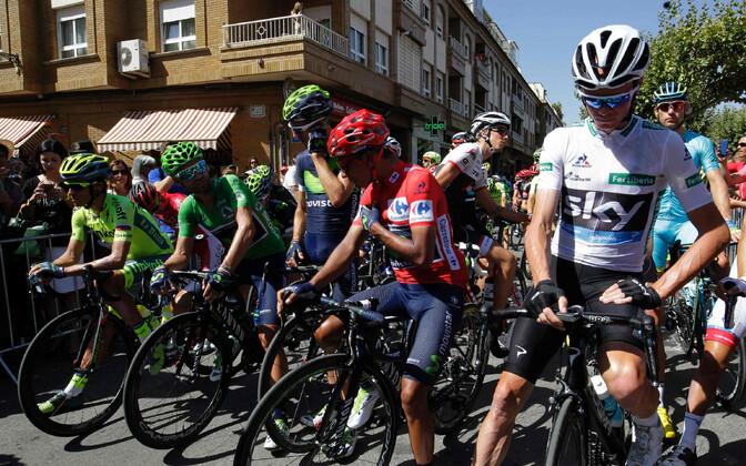 La Vuelta start
