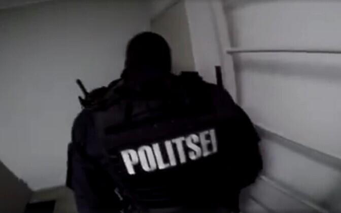 Скриншот с полицейского видео.
