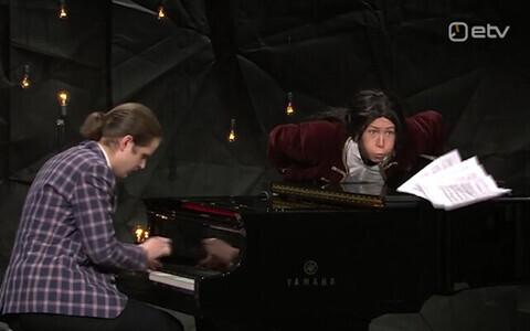 Sven-Sander Šestakov ja Grete Jürgenson