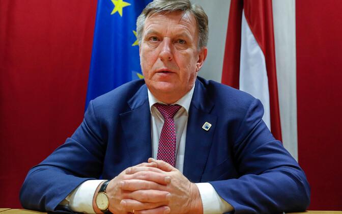 Läti peaminister Māris Kučinskis.
