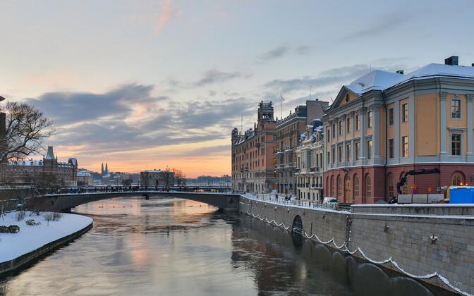 Стокгольм. Иллюстративная фотография.