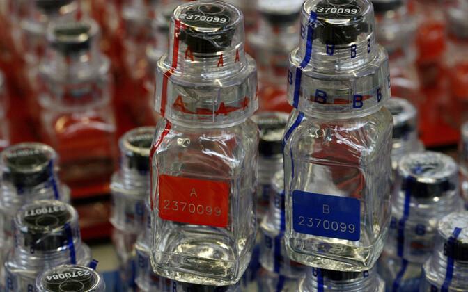 Dopinguproovi pudelid