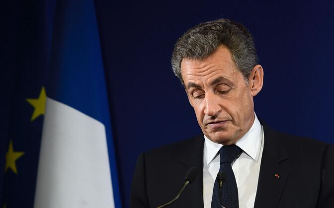 Prantsusmaa endine president, vabariiklane Nicolas Sarkozy.