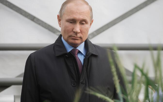 Venemaa president Vladimir Putin 12. märtsil Krasnodaris.
