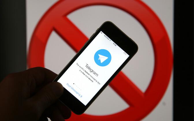 Sõnumirakendus Telegram.