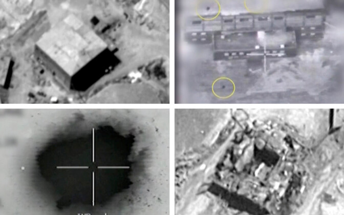 Iisraeli poolt avaldatud materjalid 2007. aasta õhurünnaku kohta.