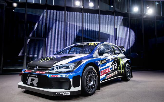 PSRX Volkswagen Swedeni uue hooaja Volkswagen Polo R Supercar.