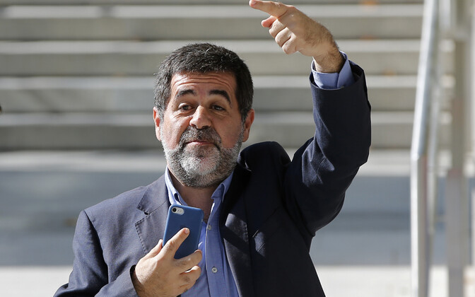 Kataloonia iseseisvuslane Jordi Sànchez.