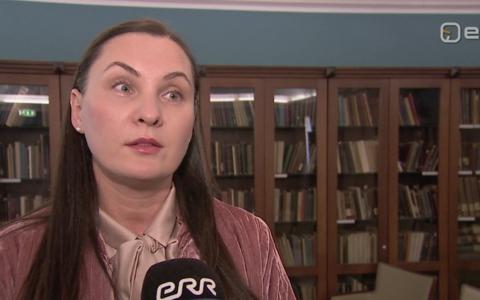 Eesti-Mordva seltsi juht Natalia Ermakov