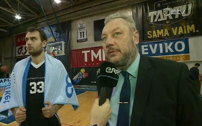 Наставник тартуских баскетболистов Прийт Вене.
