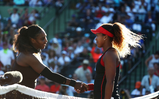 Naomi Osaka ja Serena Williams