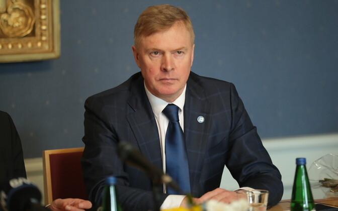 Second Vice-President of the Riigikogu Kalle Laanet (Reform).