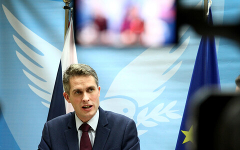 British Secretary of State for Defence Gavin Williamson.