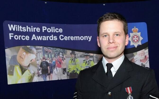 Politseinik Nick Bailey.
