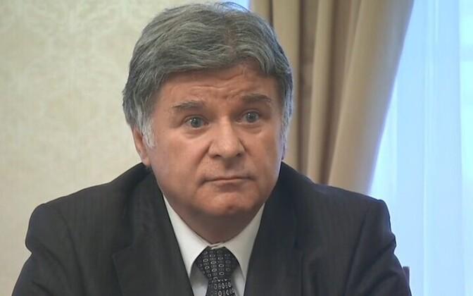 Russia's ambassador to Estonia, Aleksandr Petrov.