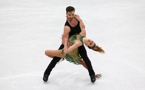 Gabriella Papadakis ja Guillaume Cizeron