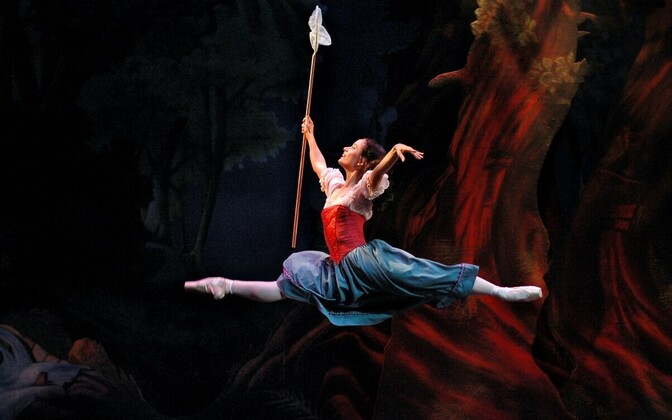 Eve Andre-Tuga Lumivalgekese rollis balletis