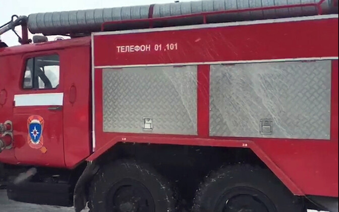 Машина российских спасателей. Иллюстративное фото.