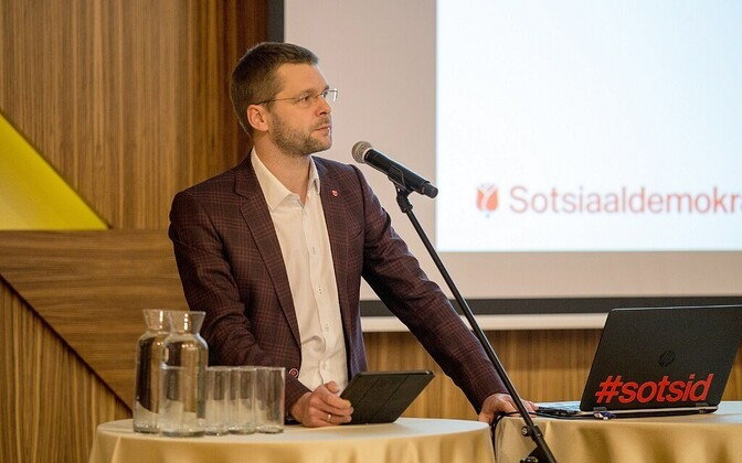 Председатель СДПЭ Евгений Осиновский.
