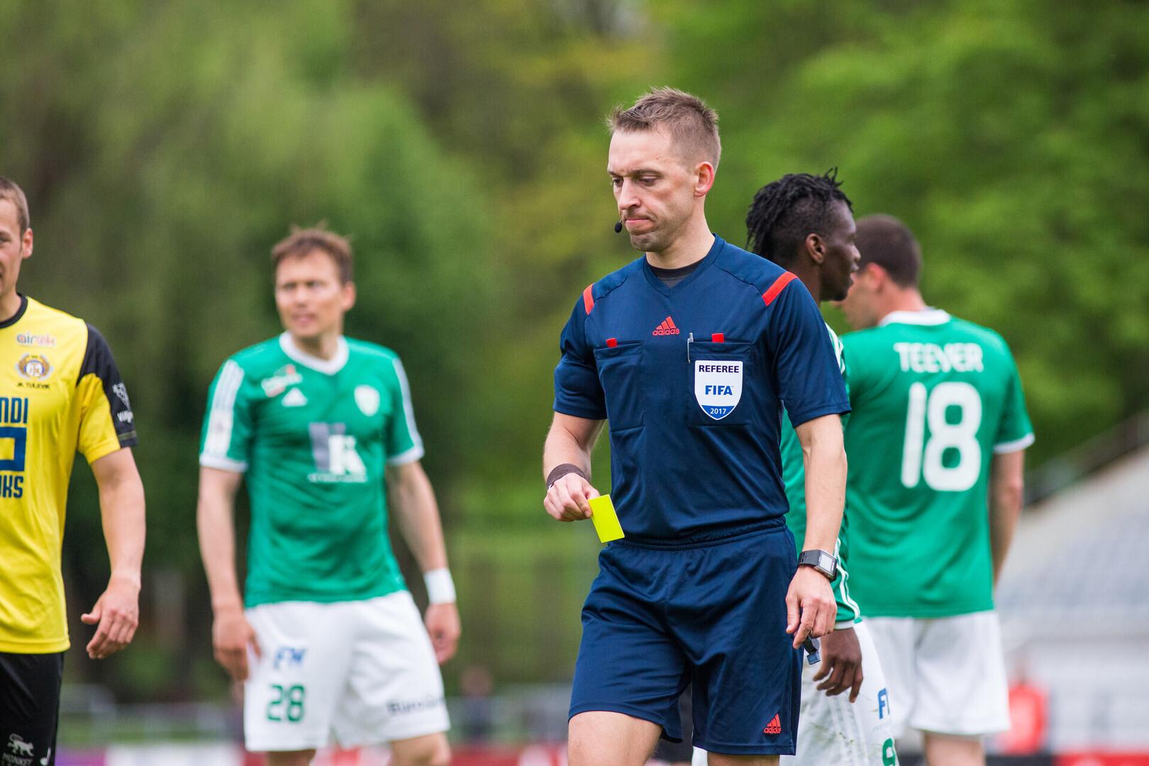 210f700f3bc Eesti kohtunik mõistab õigust Euroopa liiga mängul   Jalgpall   ERR