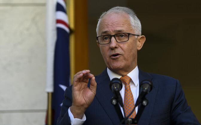 Austraalia peaminister Maclom Turnbull.