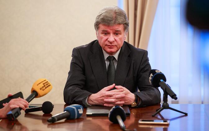 Vene suursaadik Aleksandr Petrov
