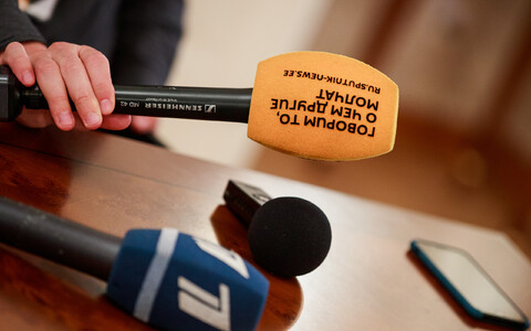 Sputniku mikrofon.