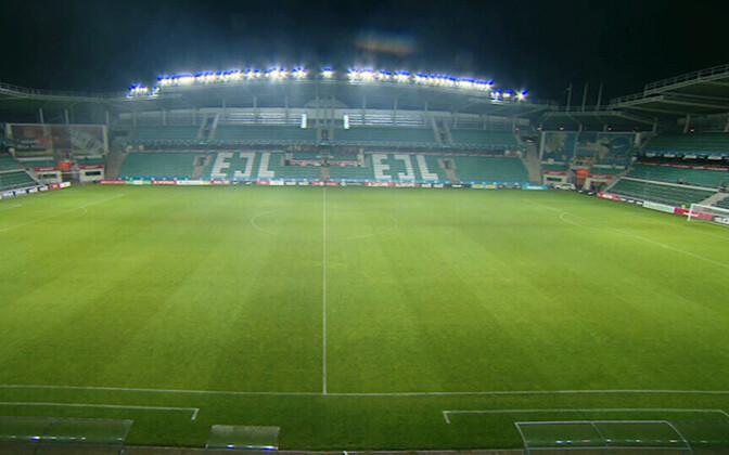 A. Le Coq Arena - главный футбольный стадион Эстонии.